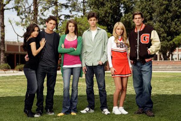 Vida secreta del elenco adolescente americano